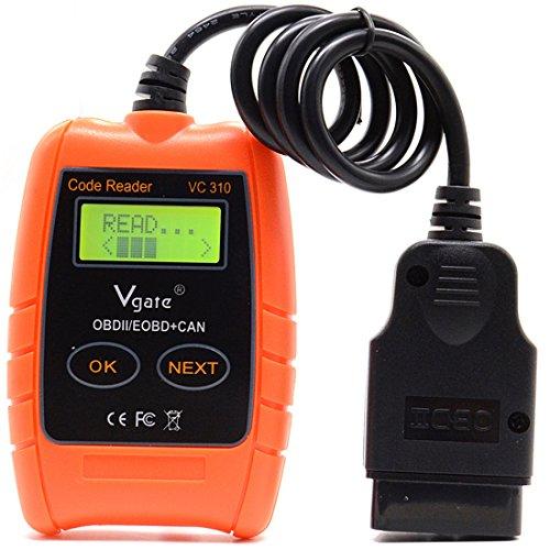 Vgate VC310 Auto OBDII  EOBD  CAN Auto Code Reader Car Diagnostic Tool OBD2 DIY Scanner