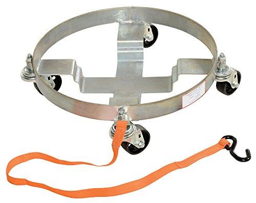Vestil DRUM-TRI-C Multi-Purpose Three-tier Drum Dolly 1200 lbs Capacity