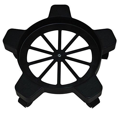 i-Lift Equipment SD15-P Plastic Drum Dolly 75 lb Capacity