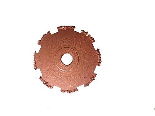 Tire Repair Buffing Wheel 93-150A Flat Faced Rasps251mm×3165mm38-24Thread 32Grit
