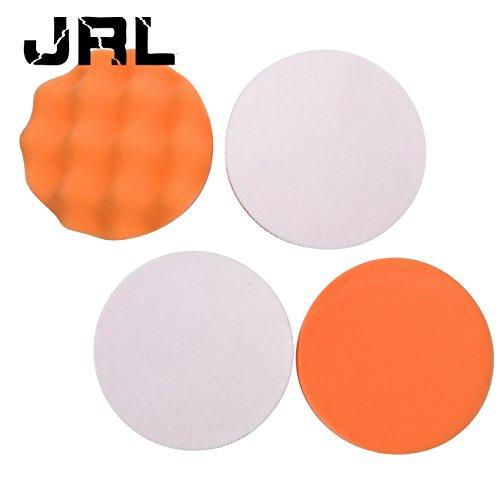 JRL 5 Sponge Buffer Waffle Polishing Foam Buffing Pads For Car Polisher