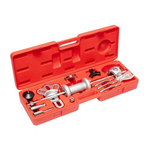 ABN Slide Hammer Puller Set Wheel Bearing Removal Tool wSlide Hammer Attachments - Wheel Hub Puller Dent Repair Kit