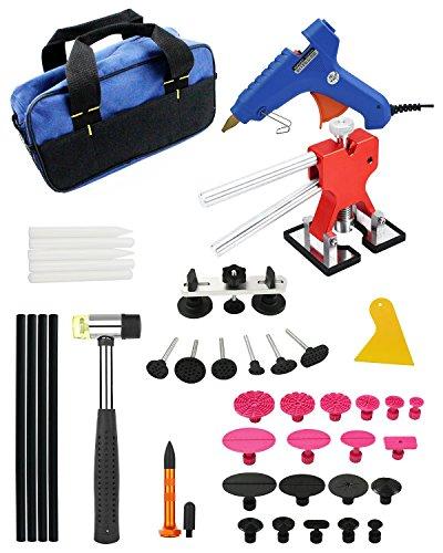 PDR Kit Dent Removal Kit Paintless Dent Repair Tools Furuix Glue Dent PullerDoor Ding Repair Kit