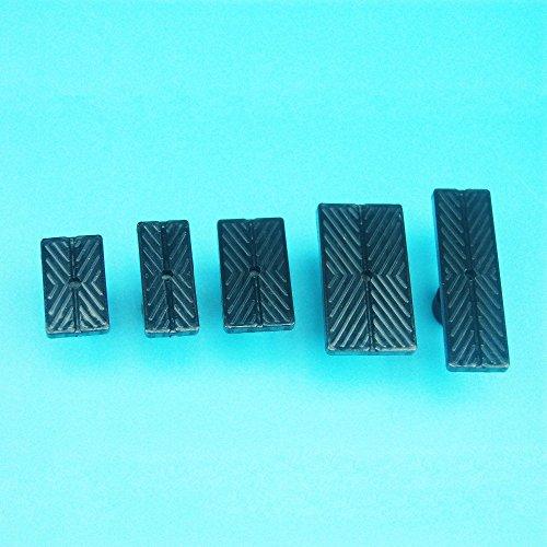 Tpfocus Paintless Dent Repair Glue Puller Sets DIY New Auto Car Body Repair Tool Kits Pulling Sets 5Pcs Black