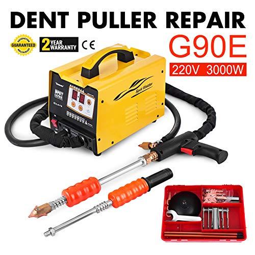 Bestauto G90E Vehicle Panel Spot Puller Dent Spotter 3500A Spot Welding Machine Multispot Bonnet Door Repair 220V
