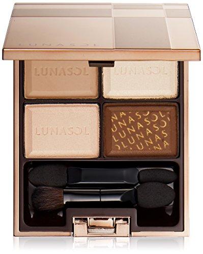 Beautiful cosmetics Kanebo Lunasol Selection Du Eyes  01 Chocolat Blanc Parallel Import Goods Clear
