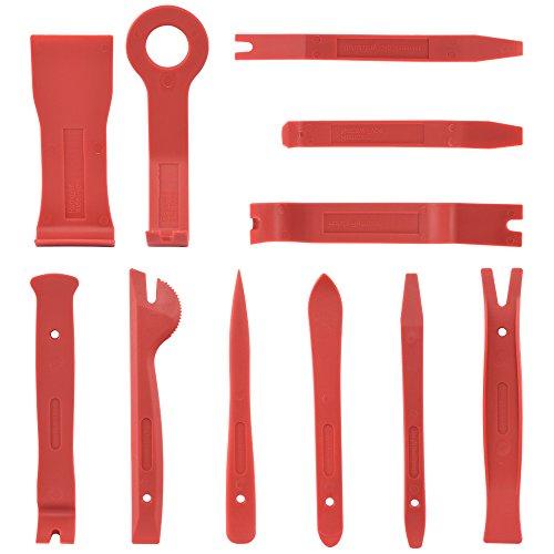 Neiko 20765A Premium Auto Trim Removal Tool Kit 11 Piece Trim Molding Installer Pry Scraper Fastener