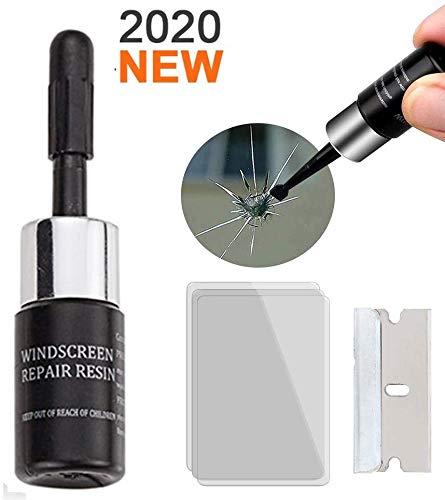 Kuloveu Car Windshield Repair Kit Automotive Glass Nano Repair Fluid Windshield Repair Resin Crack Glass Repair Tool 1