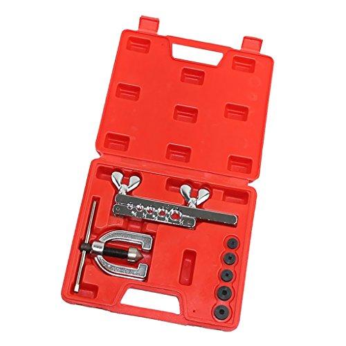 Dovewill CT-2032C 7pcs Flaring Tool Kit Brake Pipe 316 14 516 38 12 OD Set