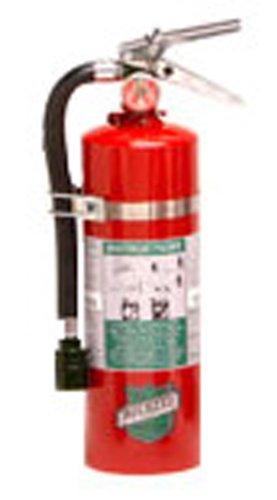 Buckeye 75550 Halotron Hand Held Fire Extinguisher with Aluminum Valve and Vehicle Bracket 55 lbs Agent Capacity 4-14 Diameter x 6-12 Width x 16-38 Height