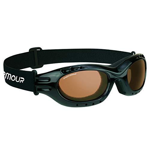 Bikershades Motorcycle Goggles Sunglasses Anti Glare Polarized High Definition Blue Blocking Lens Anti Fog