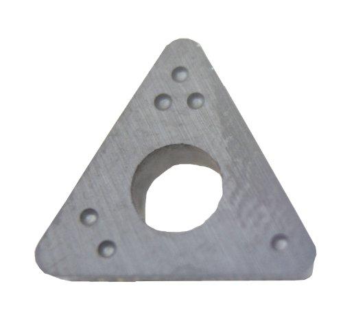 Shark 803-10 New Kwik-Way Style Formula I Type Positive Rake Bits for Lightning Lathe 032 Radius 10-Pack
