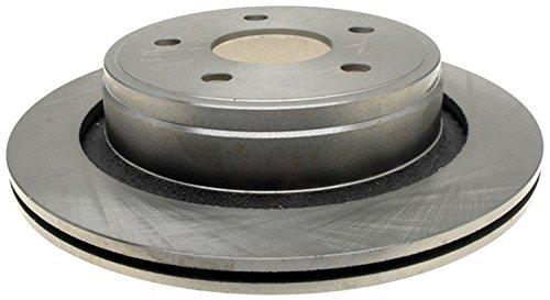 ACDelco 18A1428A Advantage Non-Coated Rear Disc Brake Rotor