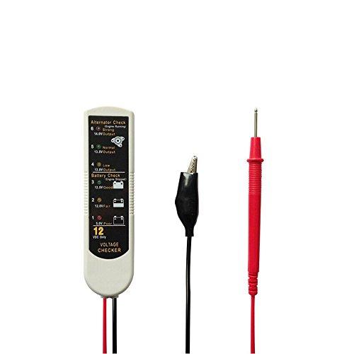 Auto-Partner Auto Car Battery Tester Battery Generator Voltage Tester Alternator Checker Diagnostic Tools
