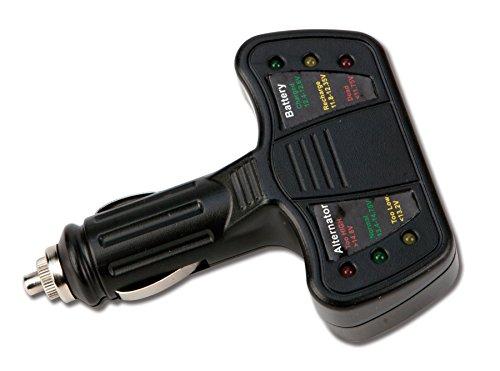 Performance Tool W2989 12V Cigarette Lighter Car Battery Tester and Alternator Tester