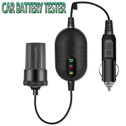 LST Battery Tester Analyzer Car Battery Monitor 12V Voltage Monitor Indicator Fuse Box Automotive Battery Load Tester Board For AGMGELSLAVRLAWET Batteries