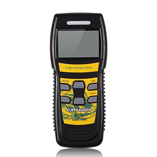 Daoming U581 Car Diagnostic Scanner Tool Live Data OBDII Engine Code Reader for OBD2 Vehicles - Black