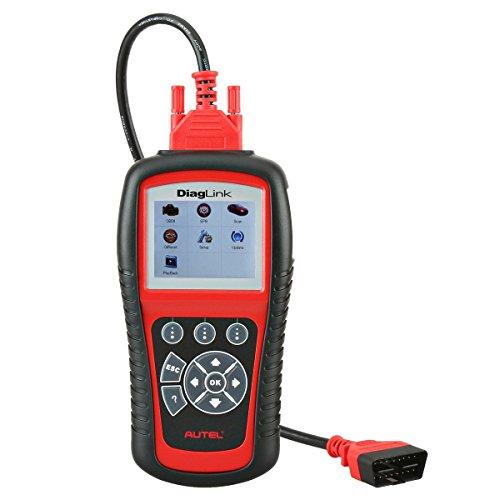 Autel OBD2 Car Code Reader - DiagLink DIY Version of MD802 Code Scanner with EPB Reset Oil Resets and Full Systems Diagnoses including ABSSRSEngineTransmission for DIY Amateurs and Workshops
