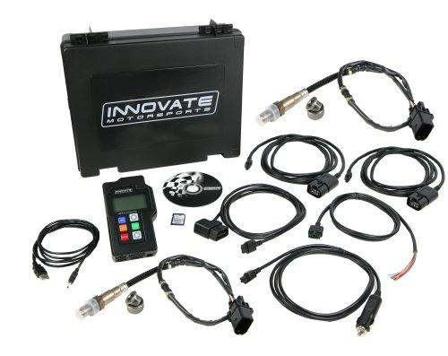 Innovate Motorsports 3807 LM-2 Digital Dual AirFuel Ratio Wideband Meter 2 O2 Sensors and OBD-II Scan Tool