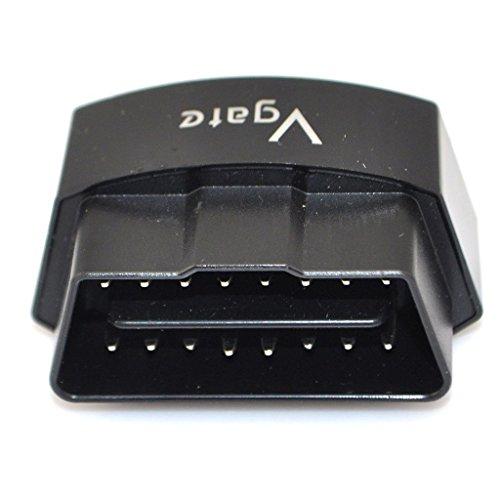 Vgate Icar3 Bletooth Scanner Car OBDII Code Reader With Color Black