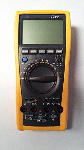 Signstek VC99 3 67 LCD Manual Auto Digital Multimeter Tester Volt Ammeter Test Meter Ohm Analog Bar Auto Range