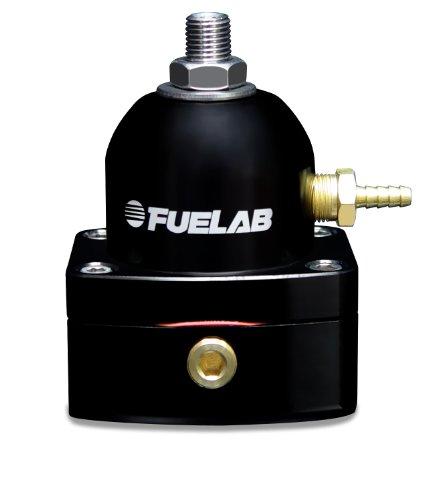 Fuelab 51502-1 Universal Black EFI Adjustable Fuel Pressure Regulator