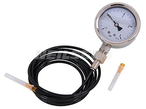 Turbo Pressure Gauge 3 Bar Fuel Injection Pressure Tester