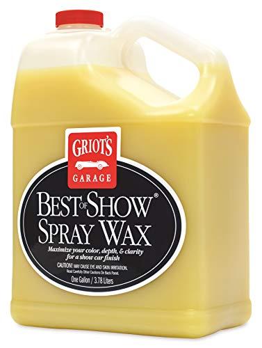 Griots Garage 10969 Best of Show Spray on Wax Gallon 1