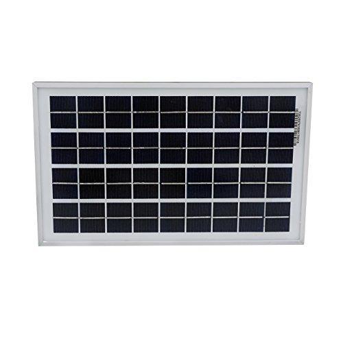 ECO-WORTHY 10W Solar Panel 10 Watt 12 Volt Pv Solar ModuleSolar Cell Panel