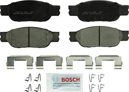 Bosch BC805 QuietCast Premium Ceramic Disc Brake Pad Set For 2002-2005 Ford Thunderbird 2000-2004 Jaguar S-Type 2000-2006 Lincoln LS Front