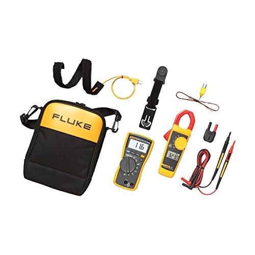 Fluke FLUKE-116323 KIT HVAC Multimeter and Clamp Meter Combo Kit