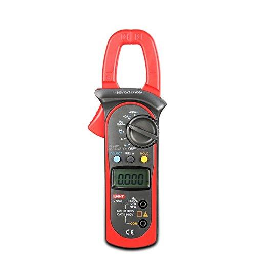 UNI-T UT203 Digital Clamp Multimeter DC AC Current Voltmeter Tester