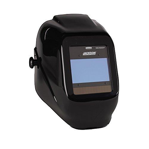 Jackson Safety 46131 Insight Variable Auto Darkening Welding Helmet HaloX ADF Black