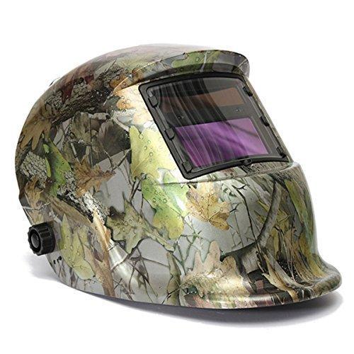 LESOLEIL Electrical Welding Helmet Solar Energy Automatic Grinding Mask