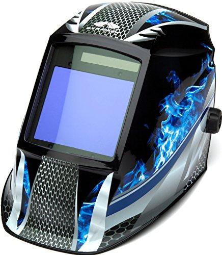 Pyramex Safety WHAM3030FM Leadhead Auto Darkening Welding Helmet Fire Metal
