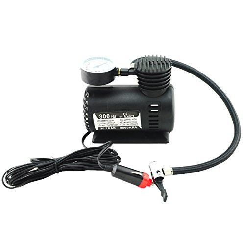 Scenstar 12V 300PSI Mini Portable Electric Air Compressor Pump for car Tire Inflator Pump