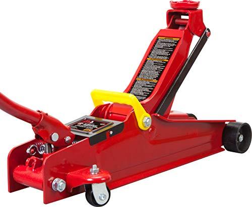 Big Red Torin T825051 GarageShop Equipment Low Profile Hydraulic Trolley ServiceFloor Jack 25 Ton 5000 lb Capacity