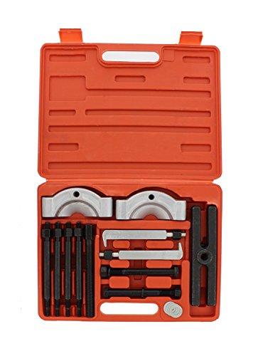 ABN Gear Puller and Bearing Separator Splitter 14-Piece Set – Heavy-Duty Kit – Vehicle Gear Pulley Steering Wheel Ball Bearing