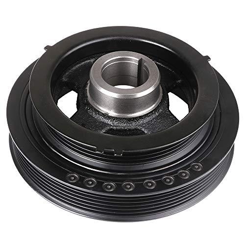 SCITOO 1230331U10 Harmonic Balancer Crankshaft Pulley Fits 1996-2001 Infiniti I30 1995-2001 Nissan Maxima