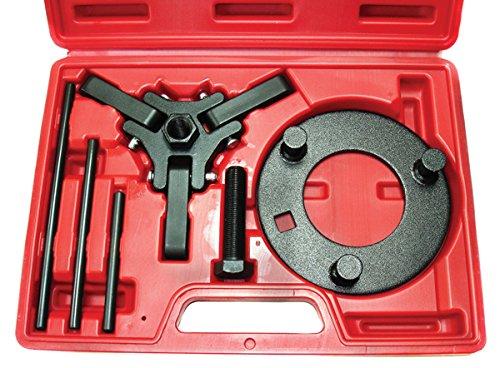 Chrysler GM FORD Mitsubishi 3 ARM Harmonic Balancer Dampener Puller Kit with Case