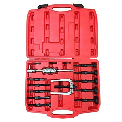 Goplus Blind Inner Bearing Puller Hole Remover Extractor Set Slide Hammer Tool Kit 16 PCS