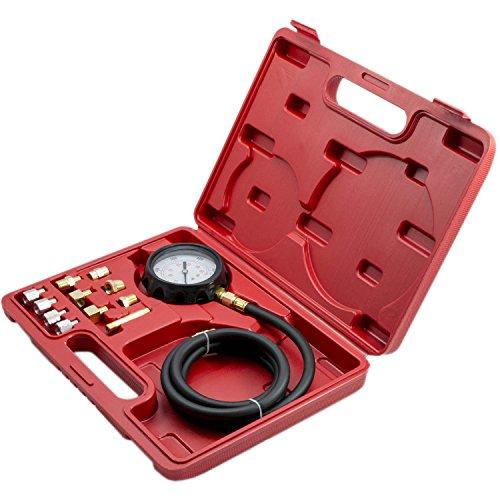 500 PSI Automatic Transmission Engine Oil Pressure Tester 3 Gauge Diagnostic