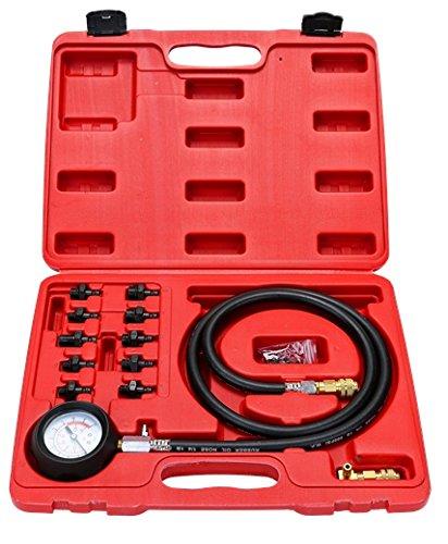 8milelake Engine Oil Pressure Test Kit Tester Car Garage Tool Low Oil Warning Devices