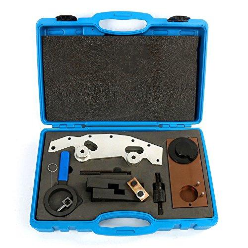 RANZHIX Timing Tool Kit Set Universal Engine Cam Camshaft Alignment Timing Locking Sets Double Vanos Camshaft Timing Locking Tool Kit Fit for BMW M52TU M54 M50