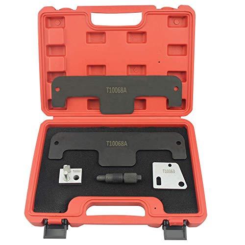 UTMALL Engine Timing Tool Set for Audi VW W8 W12 Touareg Porshce 36 Phaeton 60 Camshaft Tool kit T10068A