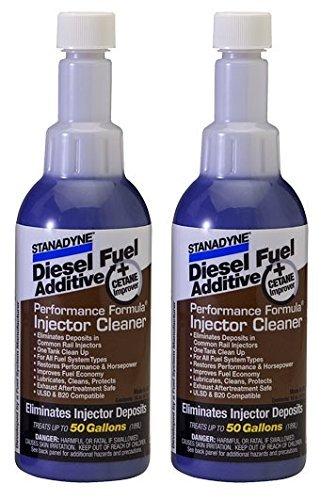 Stanadyne Performance Formula Diesel Injector Cleaner-Qty 2 16oz Bottles  43564