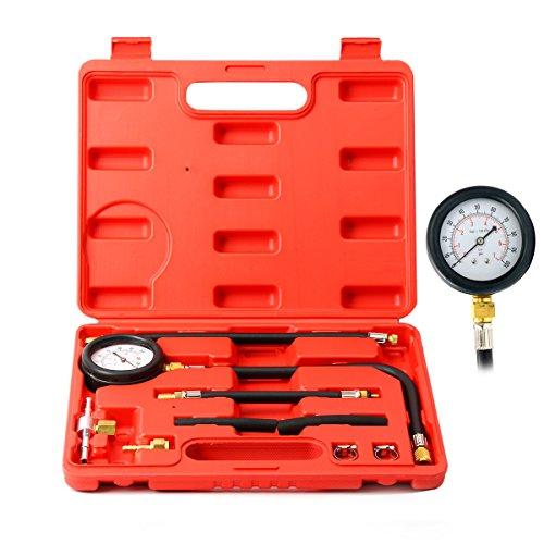 8milelake Fuel Injection Pump Pressure Tester Test Kit 100 PSI 7 Bar fits for Most Cars Trucks