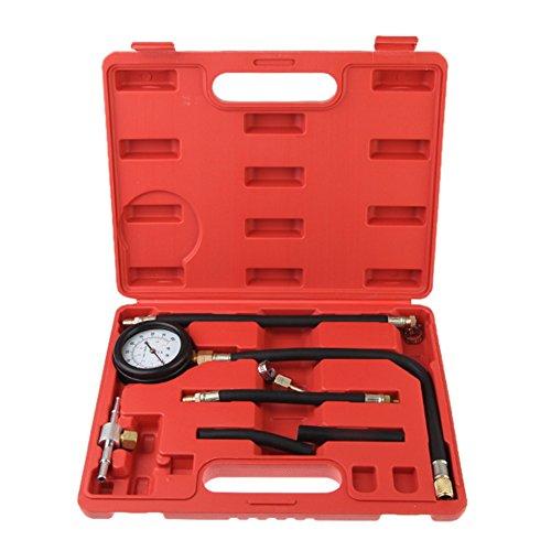 Awakingdemi Fuel Injection Pump Pressure Tester Injector Test Pressure Gauge Set wCase