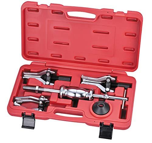 Kauplus Slide Hammer GearBearing Puller Slide Hammer Puller Set Internal External Slide Hammer Pullers Set