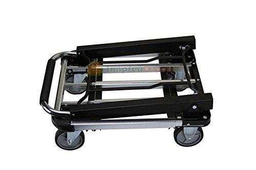 Generic ving Stur Sturdy Extendible 8 Fl Hand Cart xtendibl le Hand Cart Tru Aluminum 28 Flat Moving d Cart Truck Platform